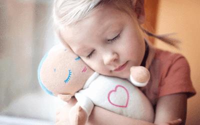 Hyggelig blød sovebamse med ægte hjertelyd og åndedræt, der giver dit barn en god og afslappet søvn